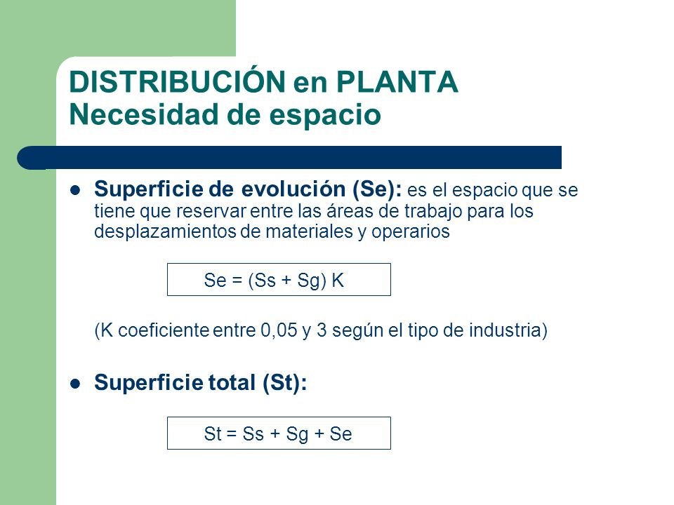 Distribuci n en planta ppt video online descargar for Distribucion de espacios de trabajo