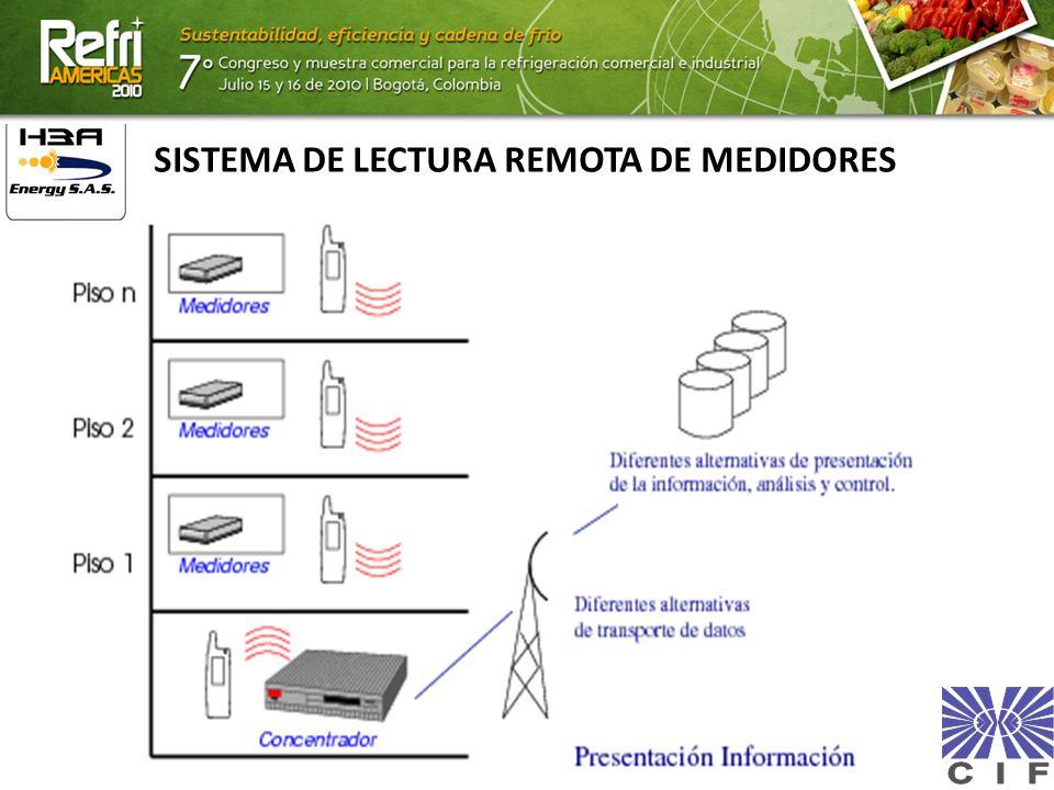 SISTEMA DE LECTURA REMOTA DE MEDIDORES