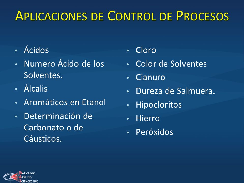 Aplicaciones de Control de Procesos