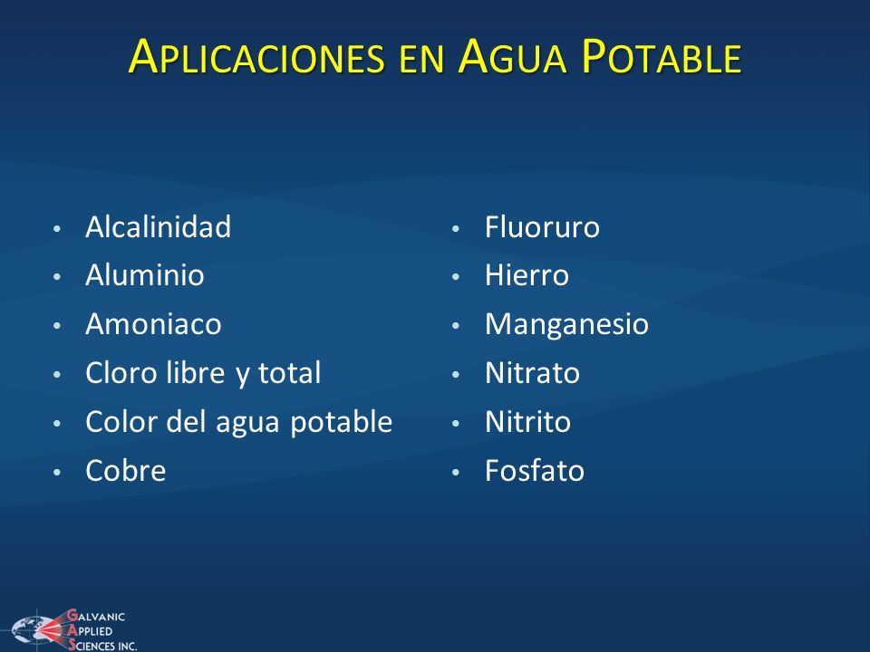 Galvanic applied sciences ppt descargar - Aplicaciones del cobre ...