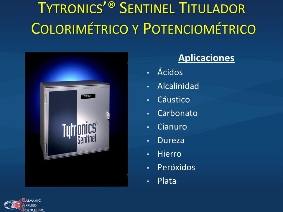 Tytronics'® Sentinel Titulador Colorimétrico y Potenciométrico