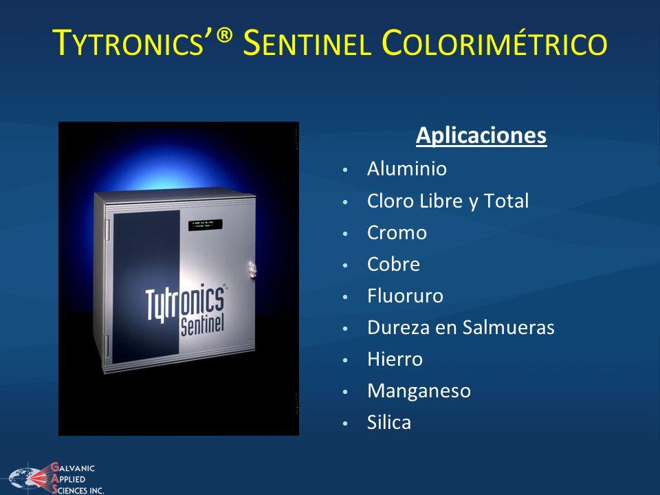 Tytronics'® Sentinel Colorimétrico