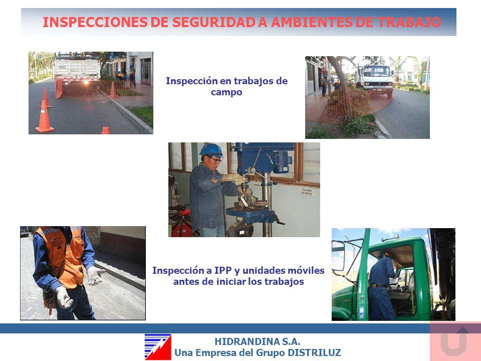 INSPECCIONES DE SEGURIDAD A AMBIENTES DE TRABAJO