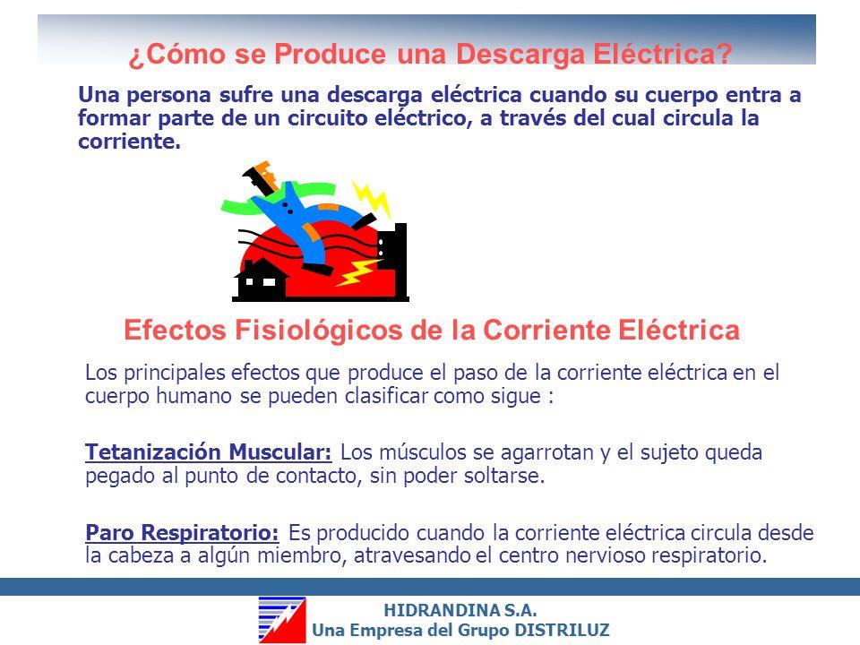 ¿Cómo se Produce una Descarga Eléctrica