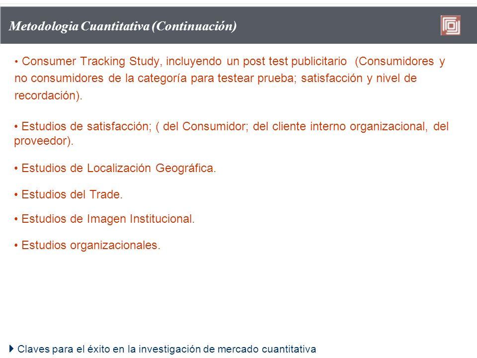 Metodologia Cuantitativa (Continuación)