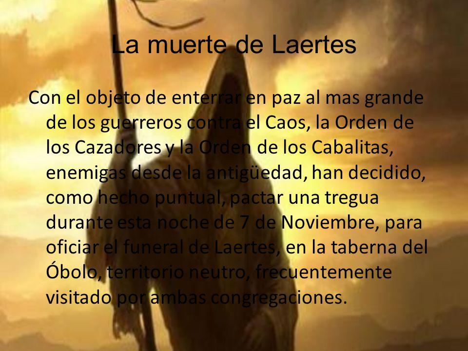 La muerte de Laertes