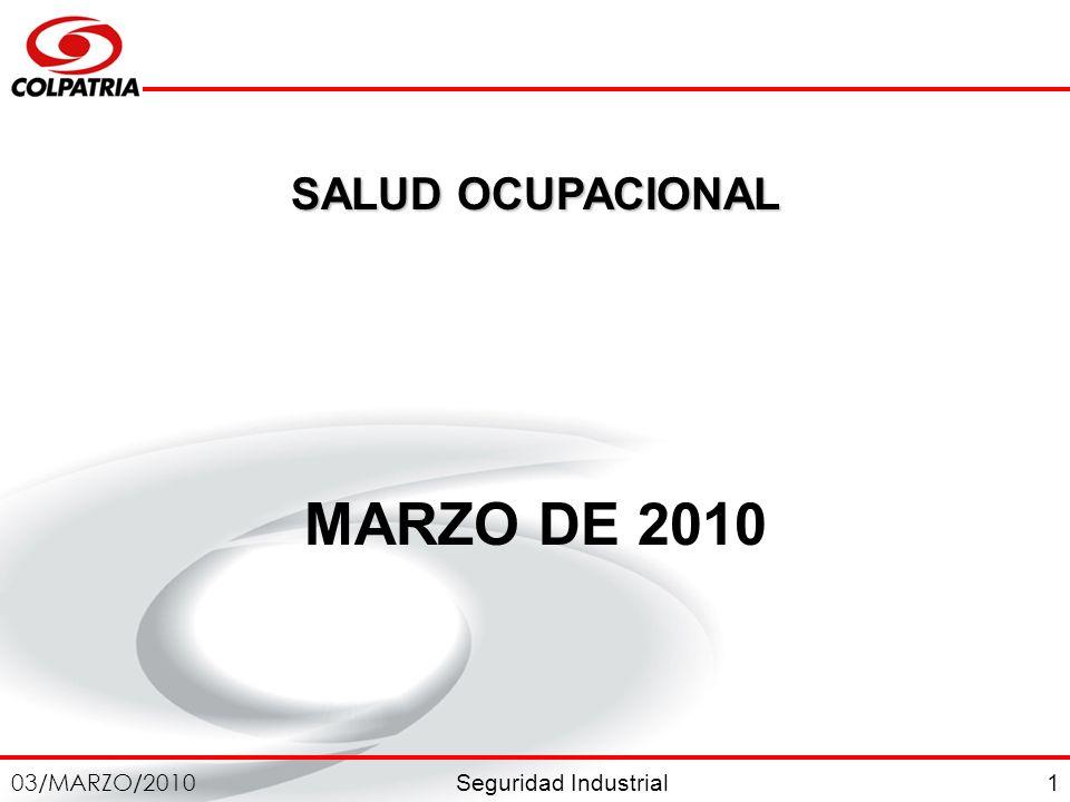 SALUD OCUPACIONAL MARZO DE 2010 1