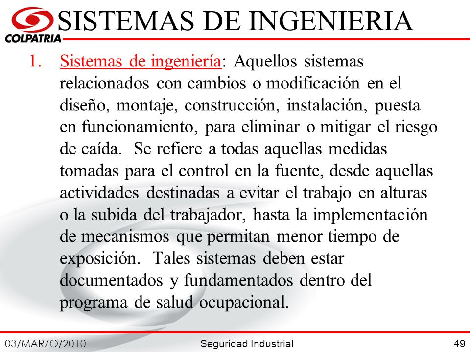 SISTEMAS DE INGENIERIA