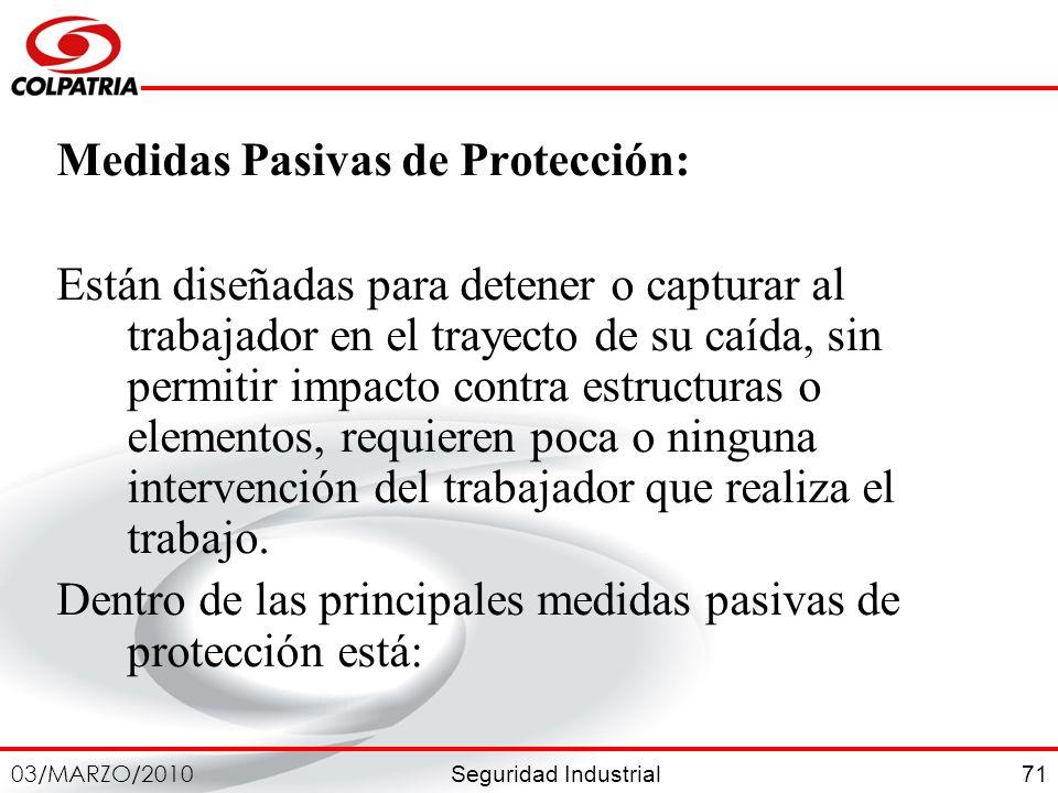 Medidas Pasivas de Protección: