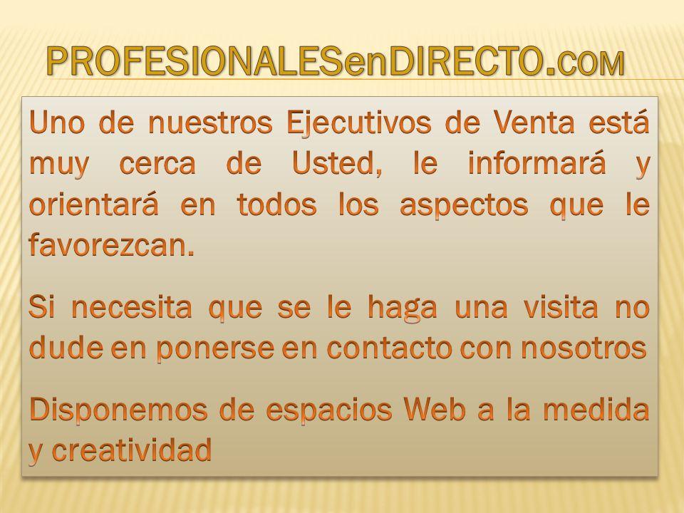 PROFESIONALESenDIRECTO.COM
