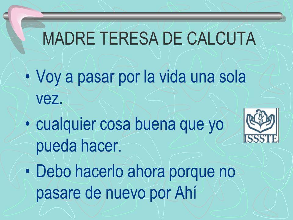 MADRE TERESA DE CALCUTA
