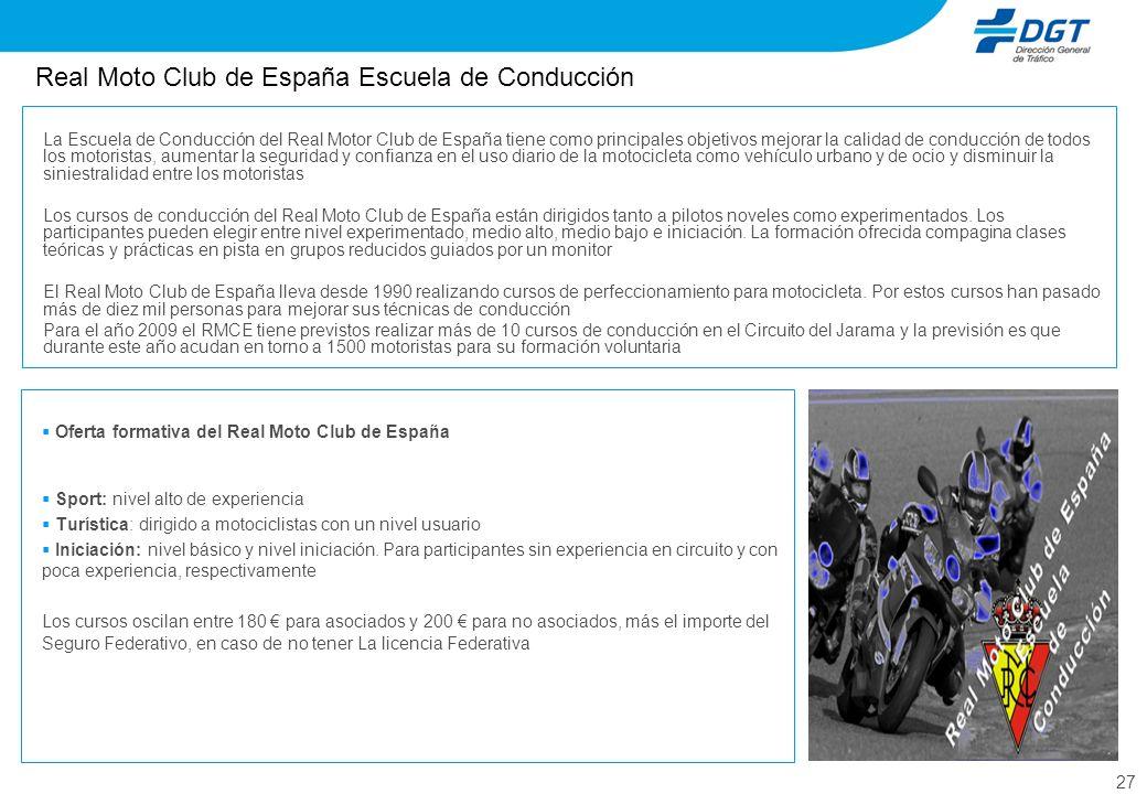 Real Moto Club de España Escuela de Conducción