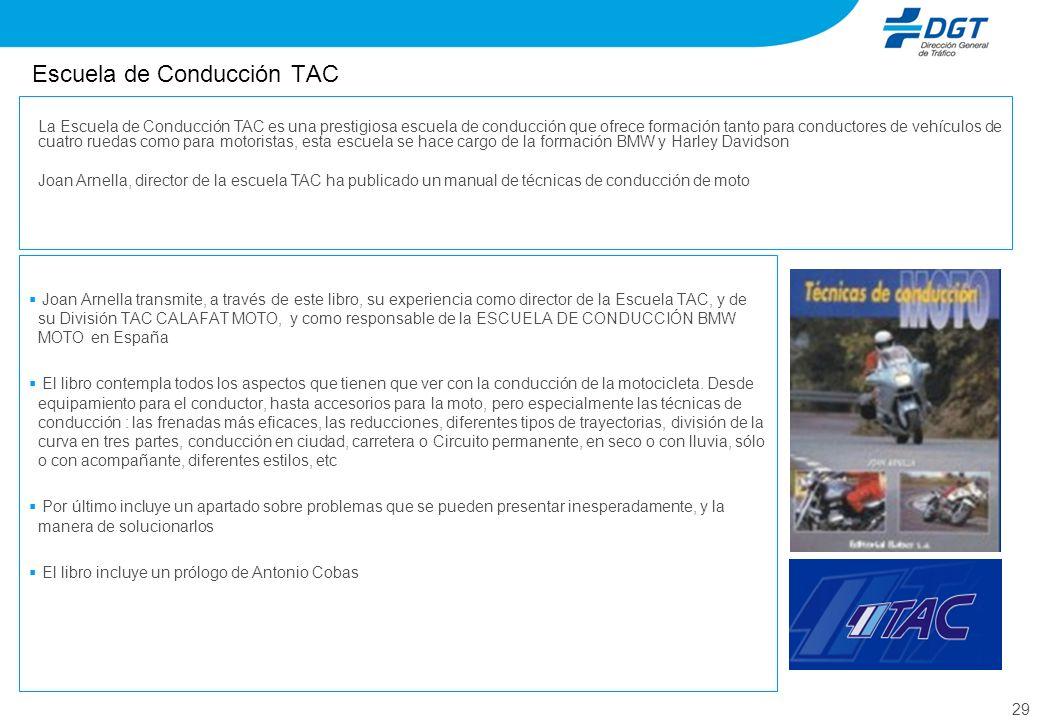 Escuela de Conducción TAC