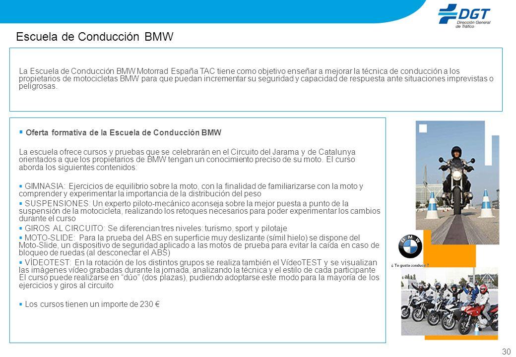 Escuela de Conducción BMW
