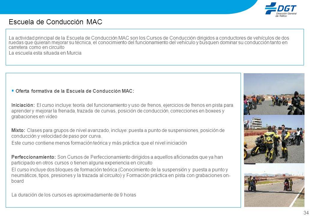 Escuela de Conducción MAC