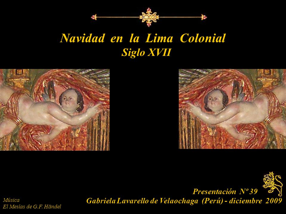 Gabriela Lavarello de Velaochaga (Perú) - diciembre 2009