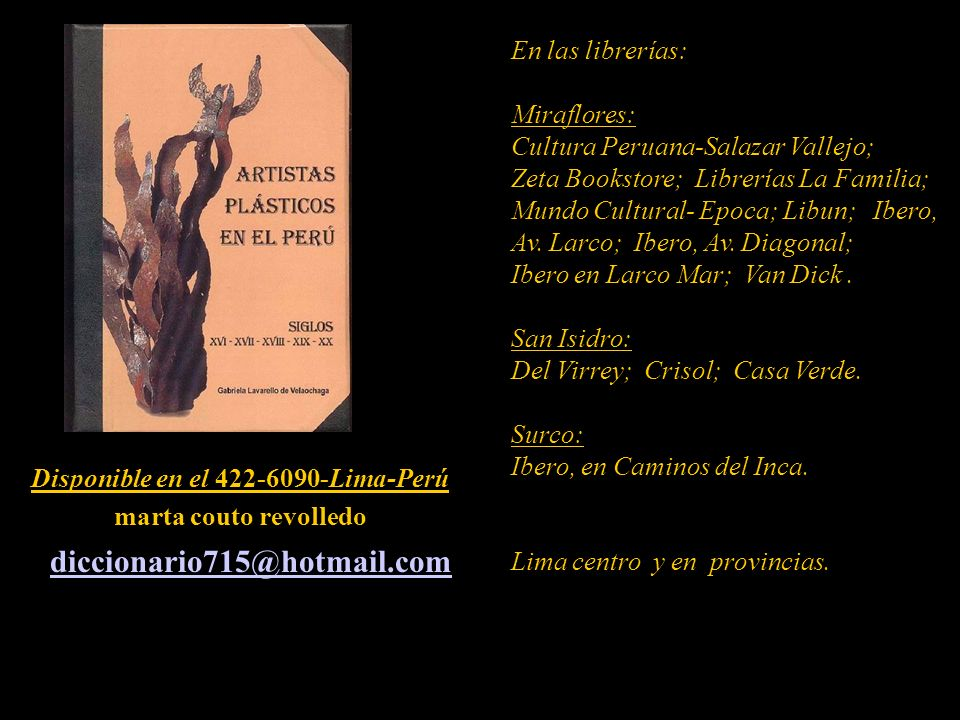 Disponible en el 422-6090-Lima-Perú