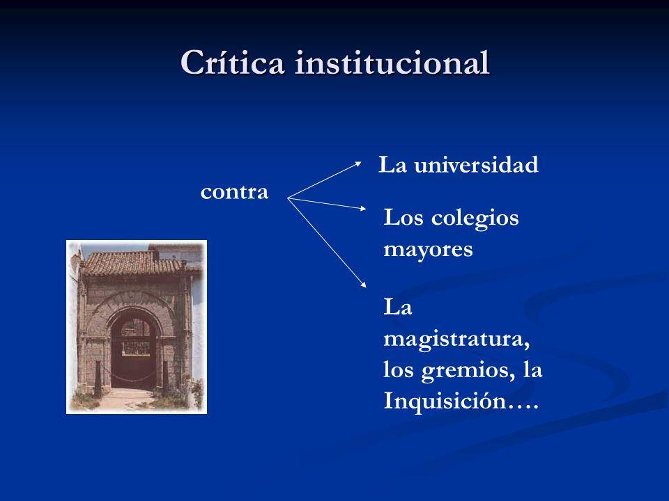 Crítica institucional