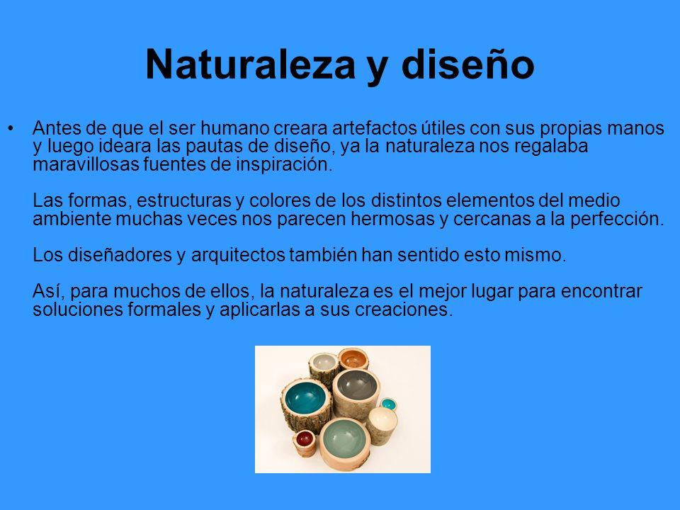 Naturaleza y diseño