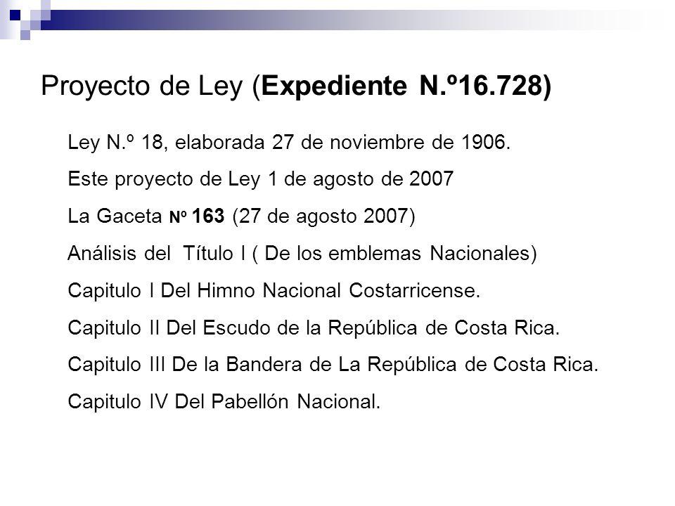 Proyecto de Ley (Expediente N.º16.728)