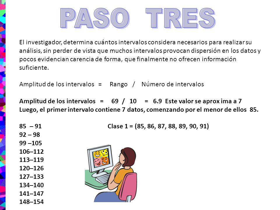 PASO TRES