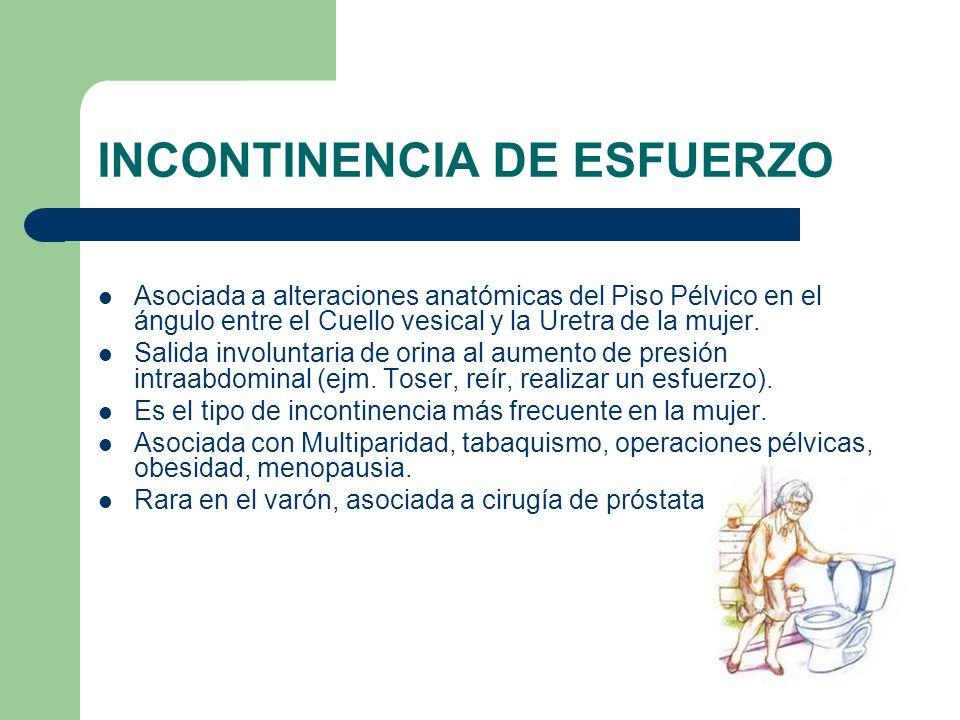 INCONTINENCIA DE ESFUERZO