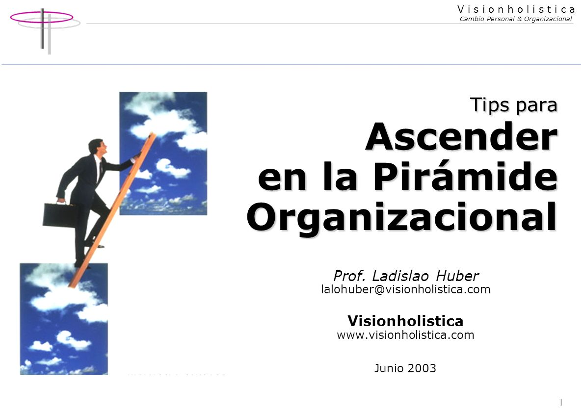 Tips para Ascender en la Pirámide Organizacional