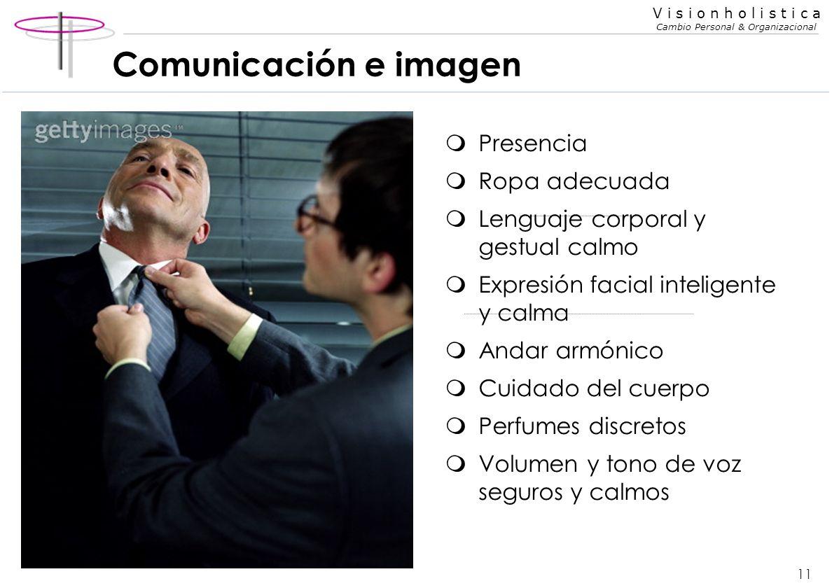 Comunicación e imagen Presencia Ropa adecuada
