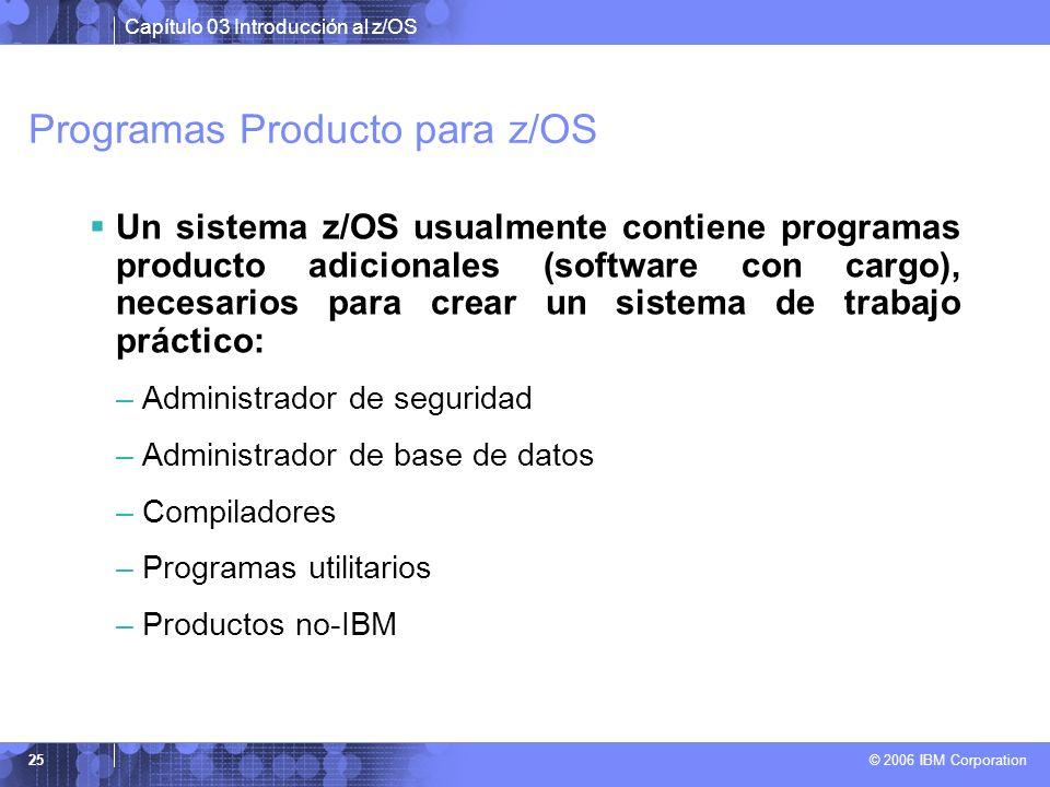 Programas Producto para z/OS