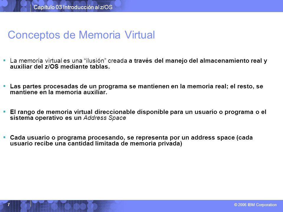 Conceptos de Memoria Virtual