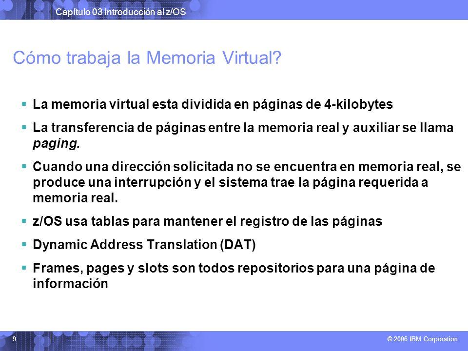 Cómo trabaja la Memoria Virtual
