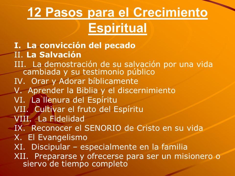 12 Pasos para el Crecimiento Espiritual