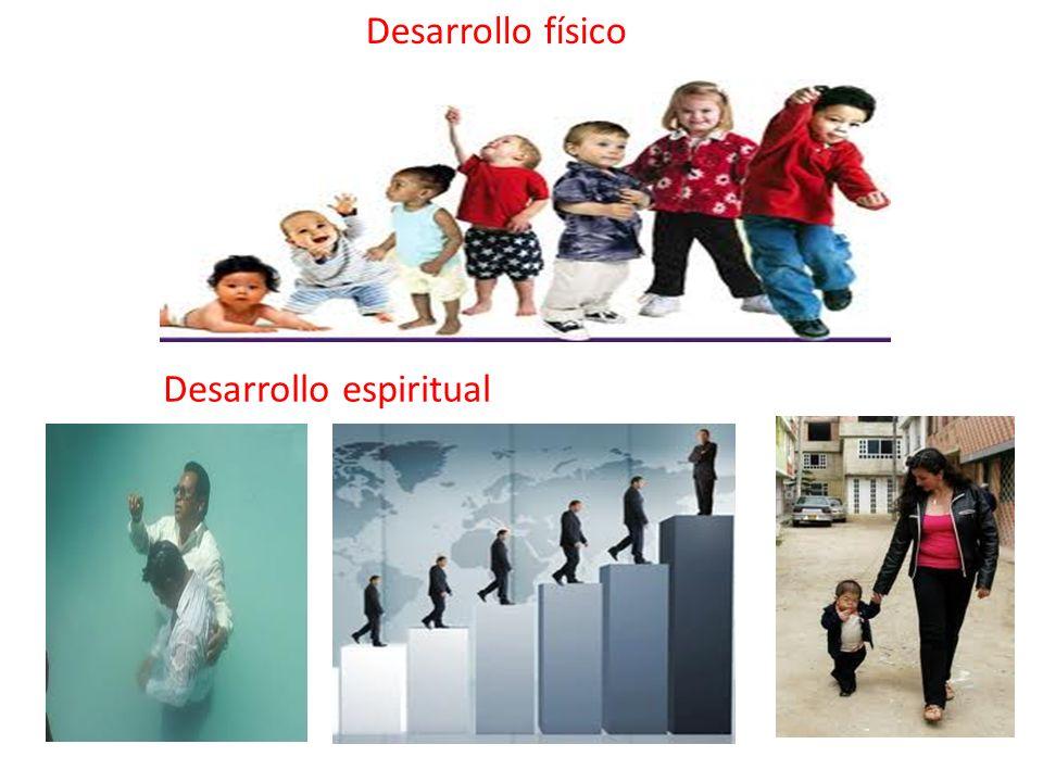 Desarrollo físico Desarrollo espiritual
