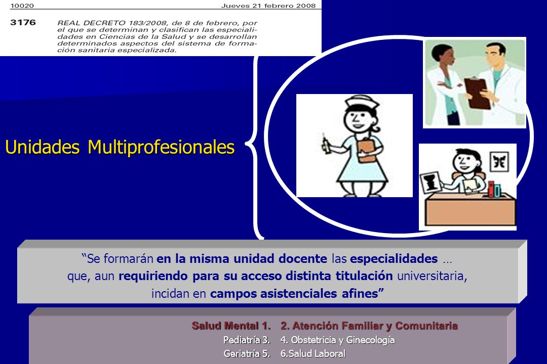 Unidades Multiprofesionales