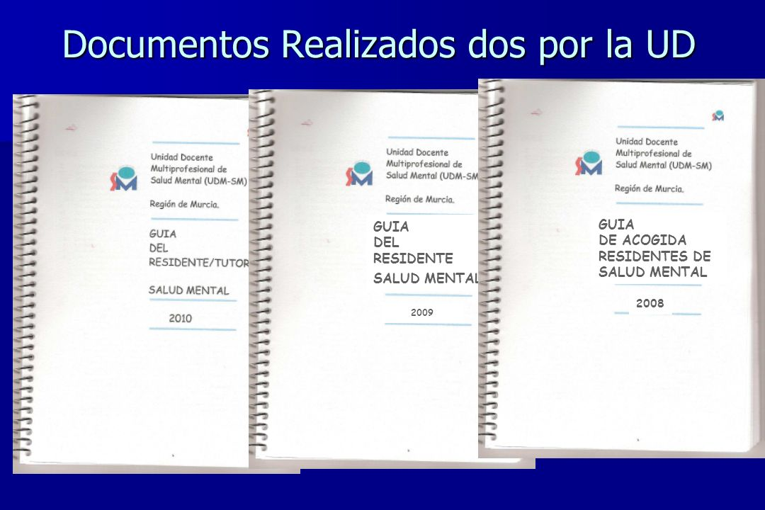 Documentos Realizados dos por la UD