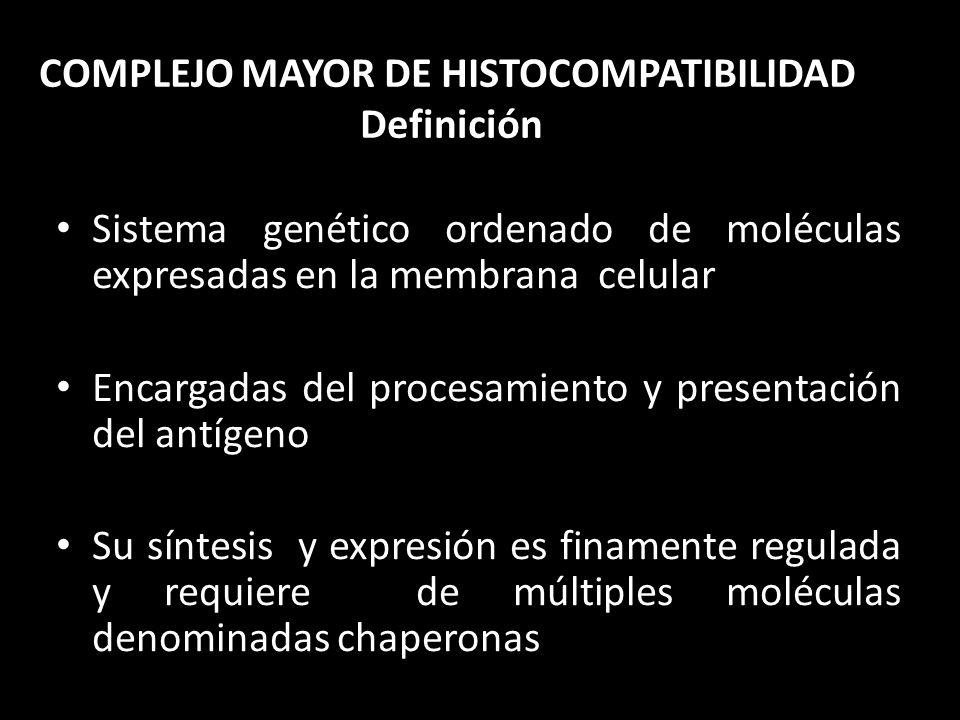 COMPLEJO MAYOR DE HISTOCOMPATIBILIDAD Definición