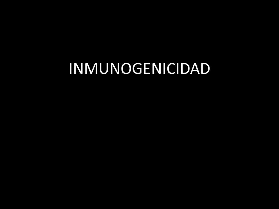 INMUNOGENICIDAD