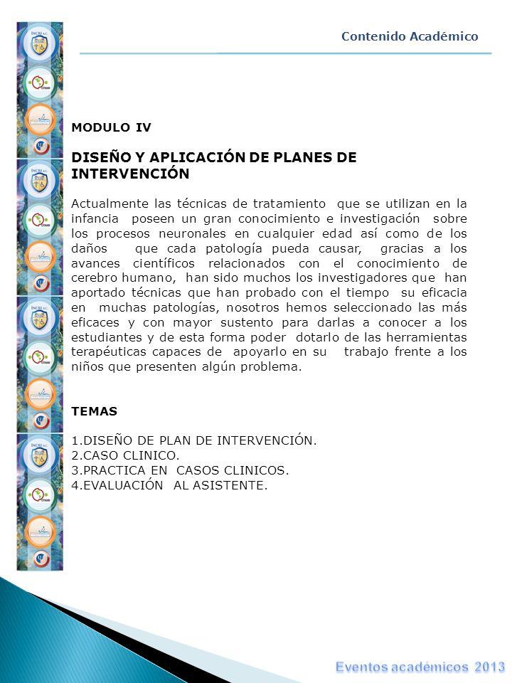 DISEÑO Y APLICACIÓN DE PLANES DE INTERVENCIÓN