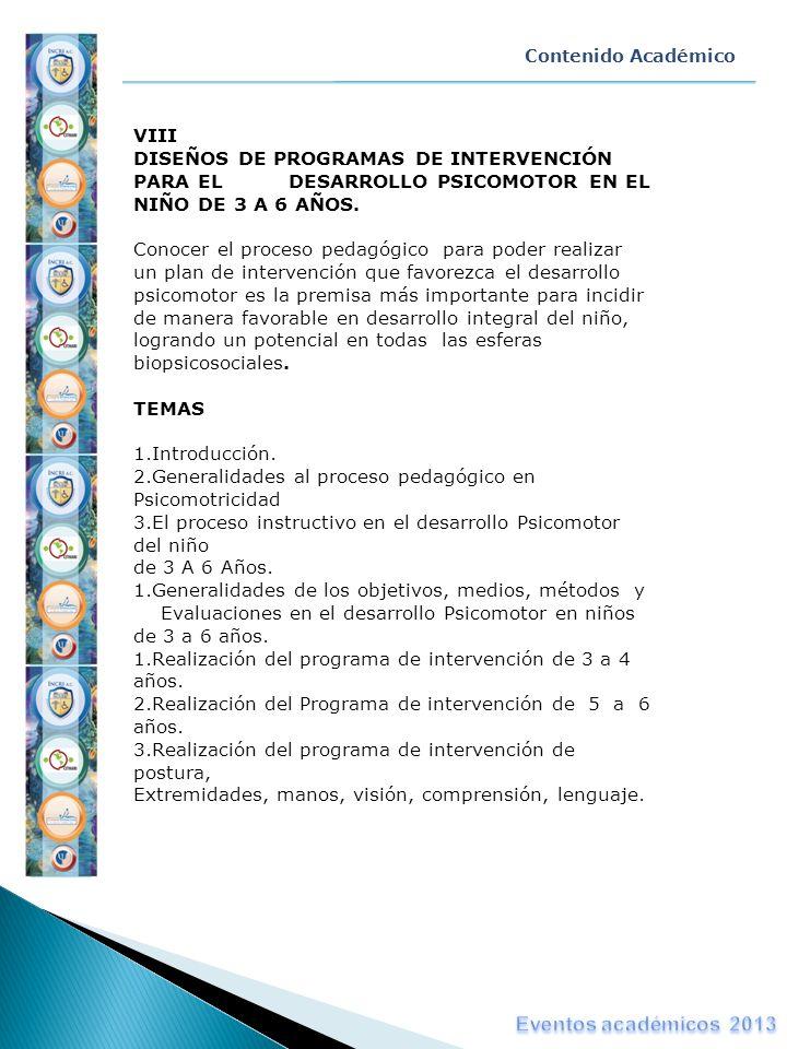 Eventos académicos 2013 VIII