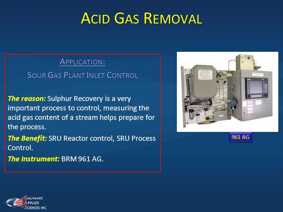 Sour Gas Plant Inlet Control