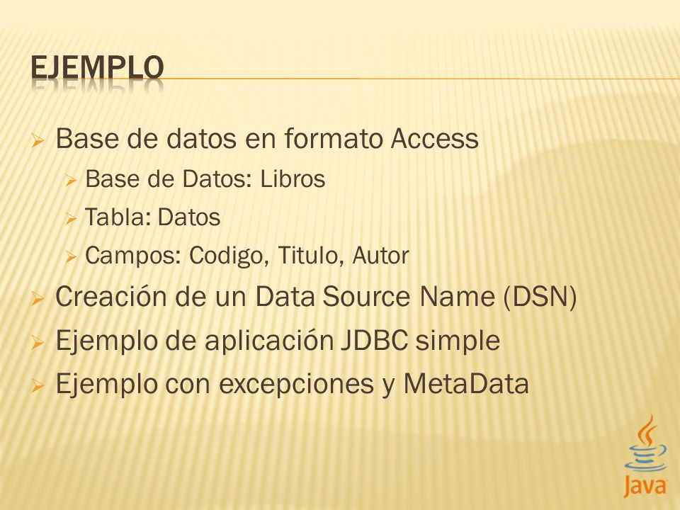 EJEMPLO Base de datos en formato Access