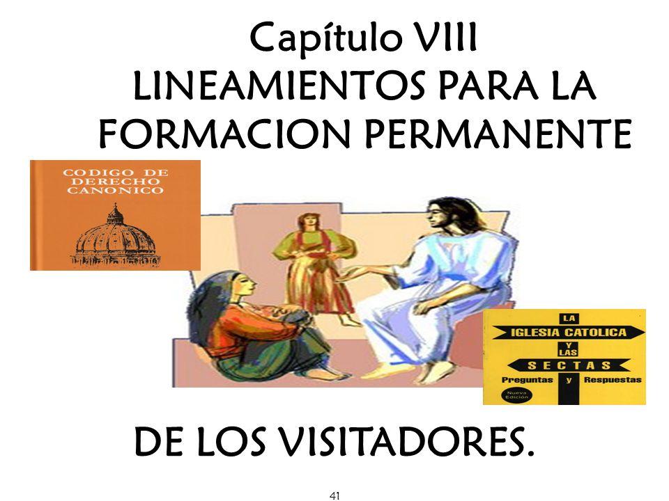 LINEAMIENTOS PARA LA FORMACION PERMANENTE