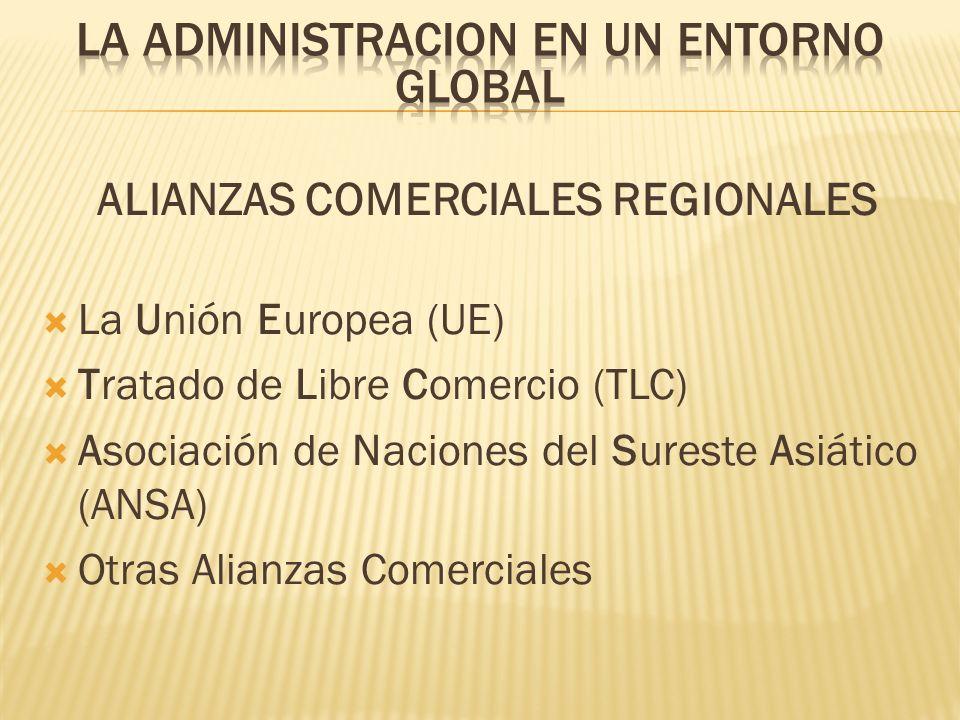 ALIANZAS COMERCIALES REGIONALES