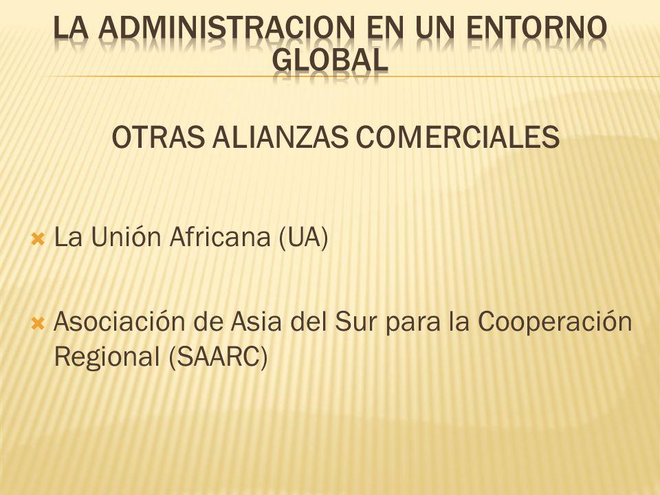 OTRAS ALIANZAS COMERCIALES