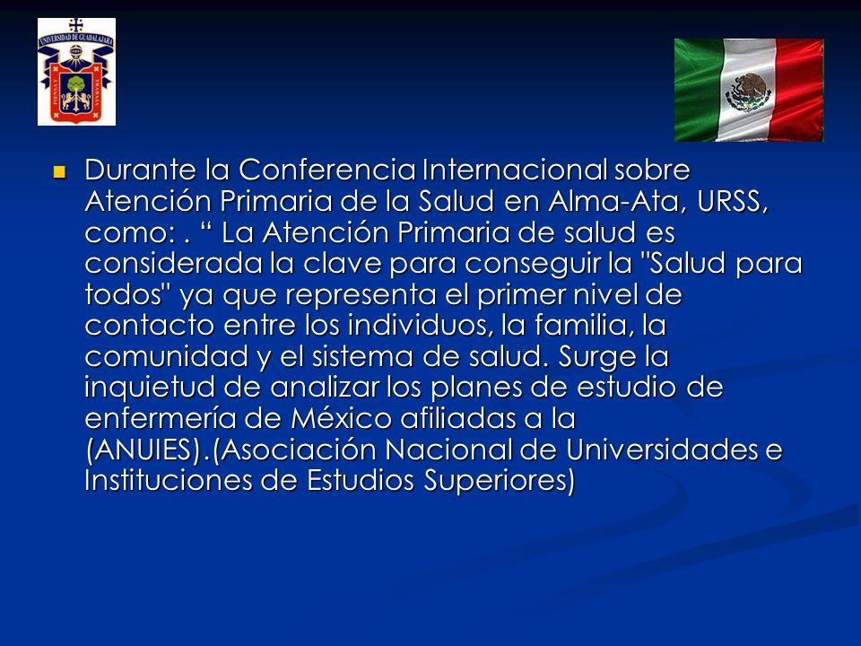 Durante la Conferencia Internacional sobre Atención Primaria de la Salud en Alma-Ata, URSS, como: .