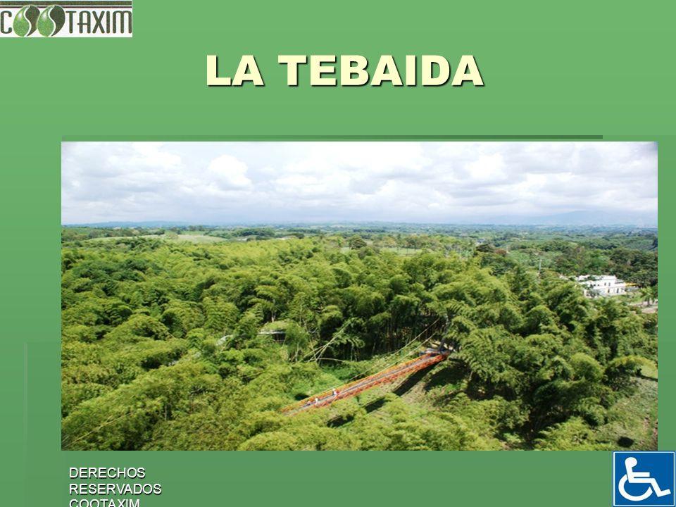 LA TEBAIDA DERECHOS RESERVADOS COOTAXIM