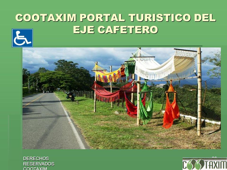 COOTAXIM PORTAL TURISTICO DEL EJE CAFETERO