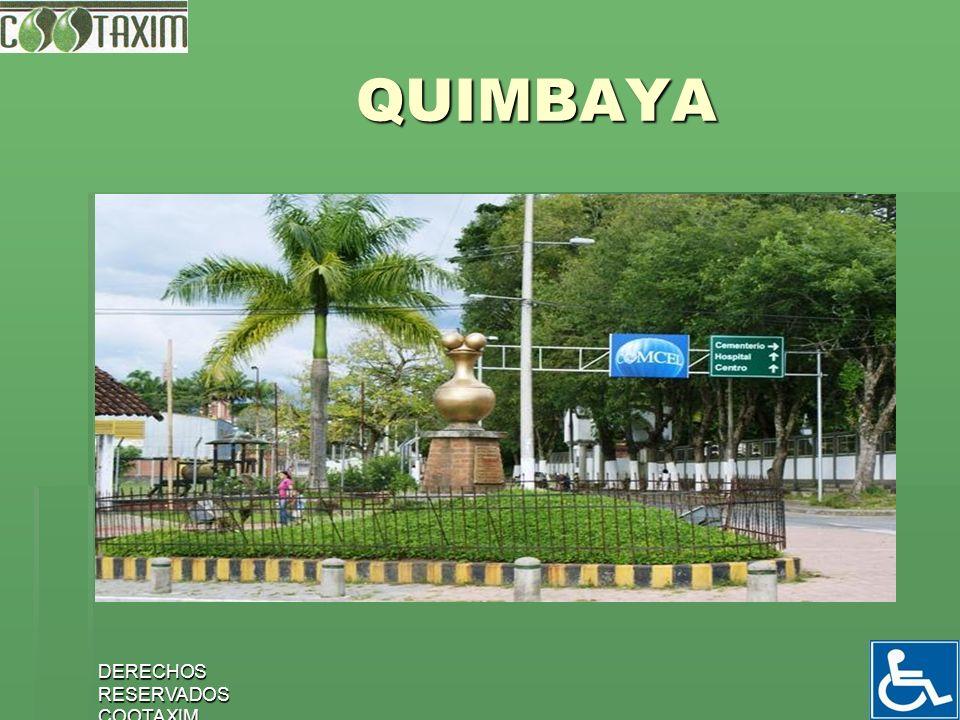QUIMBAYA DERECHOS RESERVADOS COOTAXIM