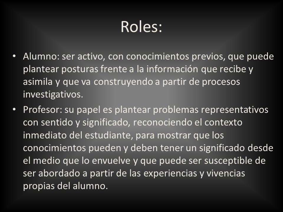 Roles: