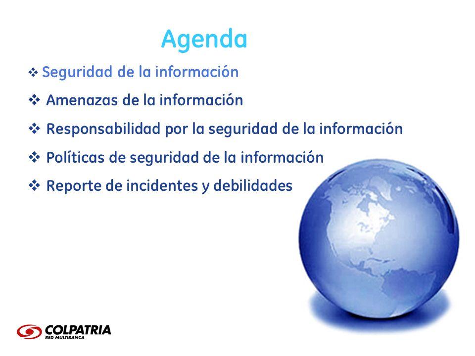 Agenda Amenazas de la información